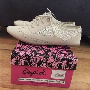 Women's Lace Up Oxford Flat